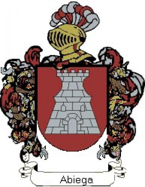 Escudo del apellido Abiega