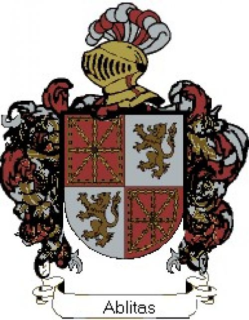 Escudo del apellido Ablitas