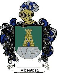 Escudo del apellido Albentosa