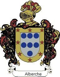 Escudo del apellido Alberche