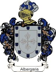 Escudo del apellido Albergaria
