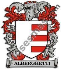 Escudo del apellido Alberghetti