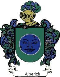 Escudo del apellido Alberich