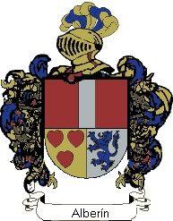 Escudo del apellido Alberin