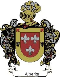 Escudo del apellido Alberite