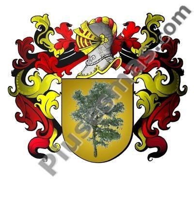 Escudo del apellido Albero