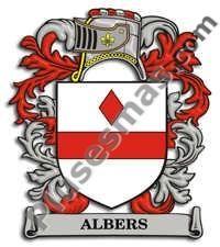 Escudo del apellido Albers