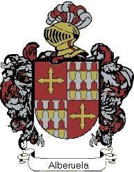 Escudo del apellido Alberuela