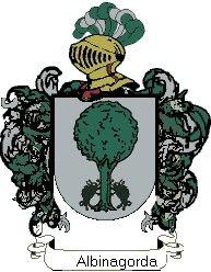 Escudo del apellido Albinagorda