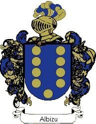 Escudo del apellido Albizu