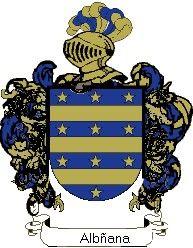 Escudo del apellido Albñana