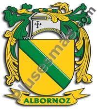Escudo del apellido Albornoz