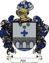Escudo del apellido Aliri