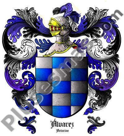 Escudo del apellido Álvarez