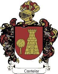Escudo del apellido Cantelar
