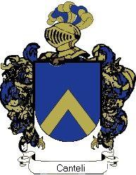 Escudo del apellido Canteli