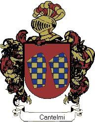 Escudo del apellido Cantelmi