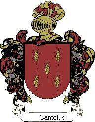 Escudo del apellido Cantelus