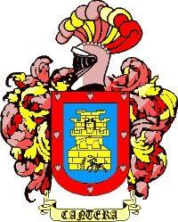 Escudo del apellido Cantera