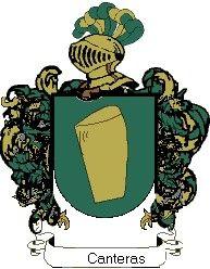 Escudo del apellido Canteras