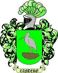 Escudo del apellido Cantero