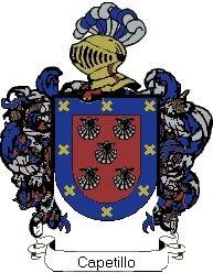Escudo del apellido Capetillo