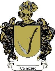 Escudo del apellido Carnicero