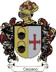 Escudo del apellido Casiano