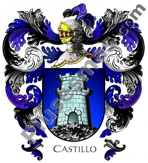 Escudo del apellido Castillo