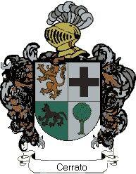 Escudo del apellido Cerrato