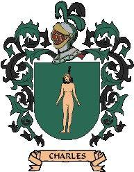 Escudo del apellido Charles