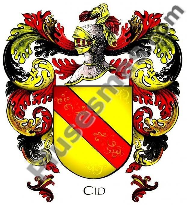 Escudo del apellido Cid