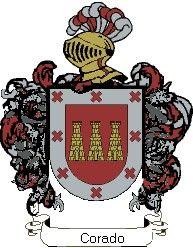 Escudo del apellido Corado