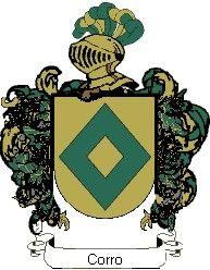 Escudo del apellido Corro
