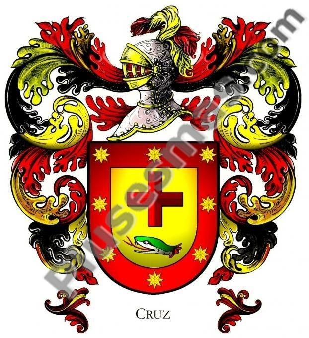 Escudo del apellido Cruz