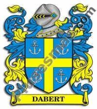 Escudo del apellido Dabert