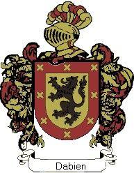 Escudo del apellido Dabien