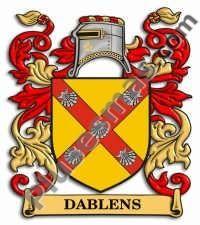 Escudo del apellido Dablens