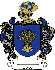 Escudo del apellido Dabo