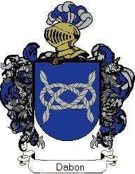 Escudo del apellido Dabon
