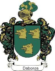 Escudo del apellido Dabonza