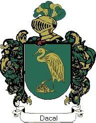 Escudo del apellido Dacal