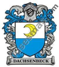 Escudo del apellido Dachsenbeck