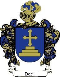 Escudo del apellido Daci