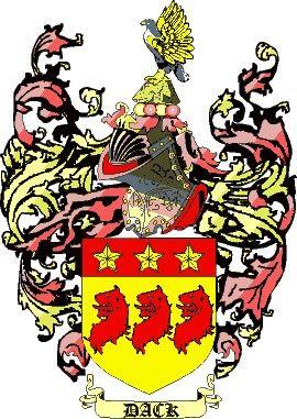 Escudo del apellido Dack