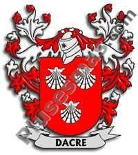 Escudo del apellido Dacre