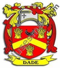 Escudo del apellido Dade