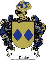 Escudo del apellido Dadier