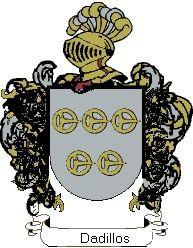 Escudo del apellido Dadillos