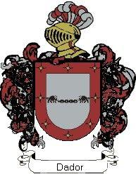 Escudo del apellido Dador